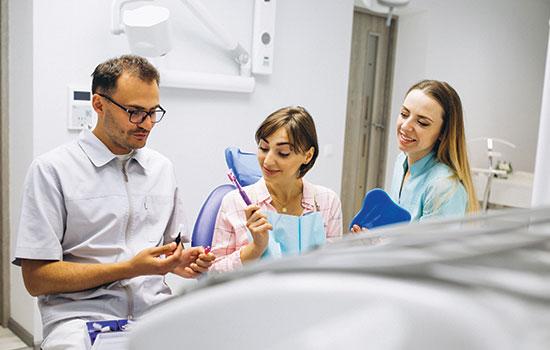 Vous êtes Chirurgien dentiste ?