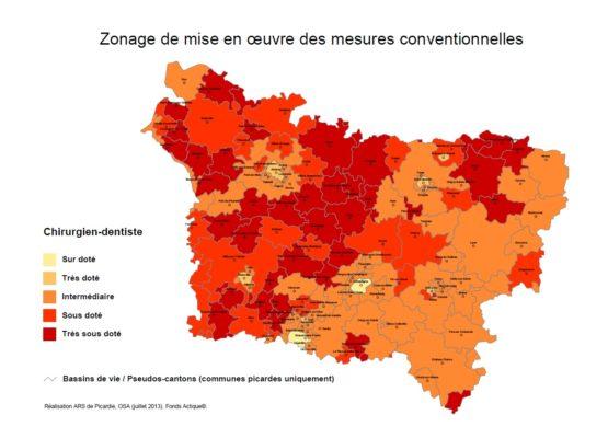 Zonage ex Picardie
